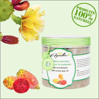 Gommage naturel visage aux figues de barbarie 100% naturel - BioAgadir
