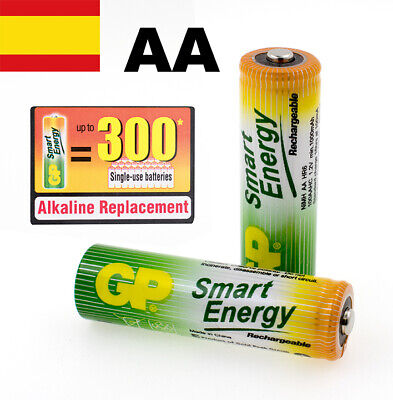Pilas Recargables Aa Blister X 2 Gp Smart Energy Baterias Recargables