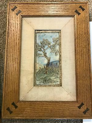 Amazing Claycraft Vintage tile hand made antique arts and crafts movement