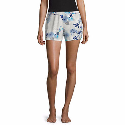 Ambrielle Women's Sleep Pajama Shorts Emerson Floral Size Small New
