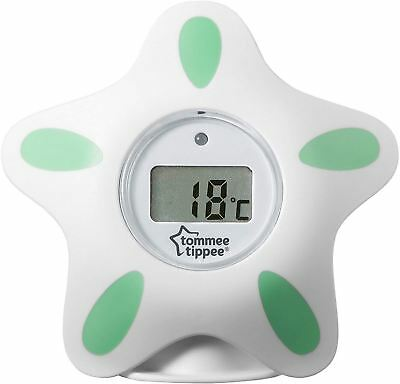 Tommee Tippee CLOSER TO NATURE BATH & ROOM THERMOMETER Easy Digital Star BN