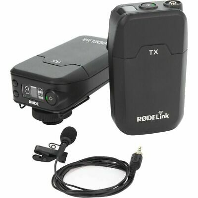 Rode Microphones RodeLink Wireless Filmmaker Lavalier Kit Open Box