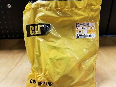 Genuine CAT 3412 - 3408 Engine Oil Cooler & Lines Gasket Kit - 141-1939 - NEW