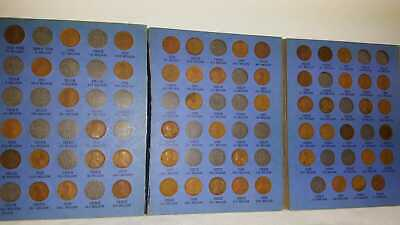 1909VDB-1940 LINCOLN HEAD CENT COLLECTION Set of(55)Wheat Pennies