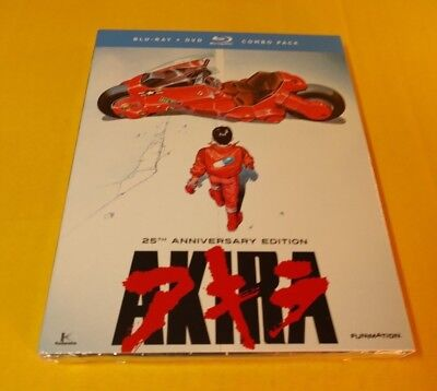 Akira (Blu-ray+DVD,2-Disc Set)Slipcover-NEW(Sealed)-Free Shipping with Tracking