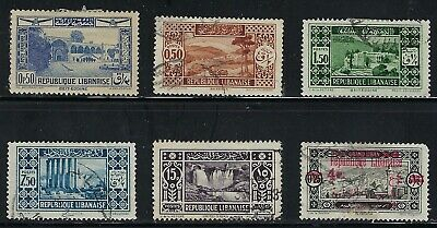 Lebanon - Very Nice Older Stamps...........81n......... R 19 M 28
