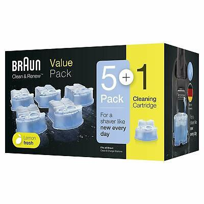 Braun CCR5 + 1 Clean and Renew Men Electric Shaver Hygienic Refill Cartridge