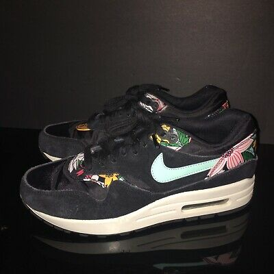 brand new c36cd 7184c 2014 Nike Air Max 1 Tropical Floral Prints Running Shoes Men US 7.5 EUC