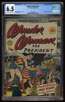 Wonder Woman (1st Series DC) #7 1943 CGC 6.5 1241274003