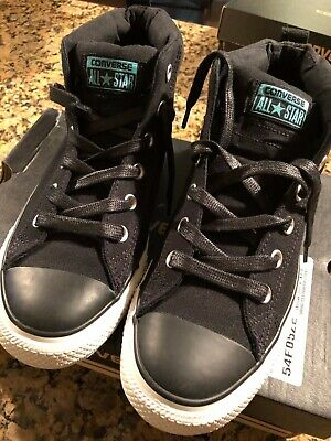 8310d03690e47d CONVERSE ALL STAR Modern High HTM Black 894953-001 Size 7.5 -  99.99 ...