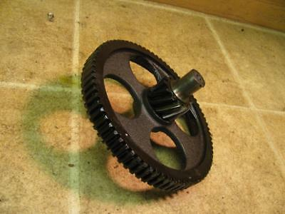 Beaver Model A Pipe Bolt Threader Reduction Gear and Shaft