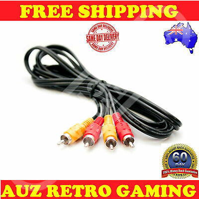 RCA AV Audio Video Composite Cable Cord For NES Nintendo Entertainment System