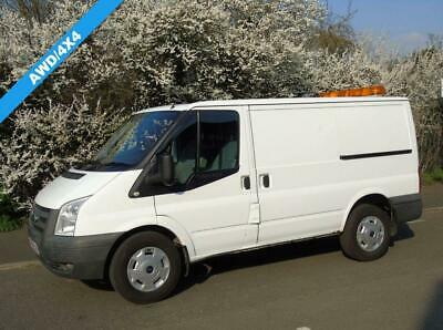 2011 61 Ford Transit T330 2.4Tdci 140 Bhp Awd/4X4 Swb Low Roof Panel Van Diesel