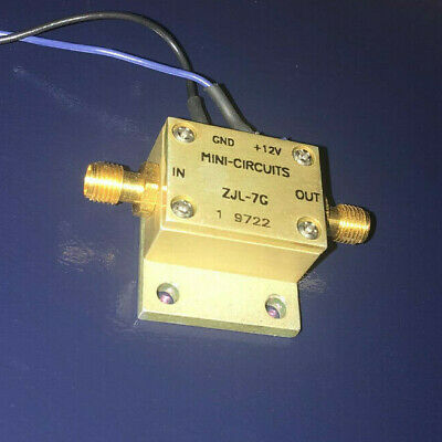 MINI-CIRCUITS ZJL-7G 0.2 TO 7000 MHZ 7 GHz BROADBAND COAXIAL AMPLIFIER