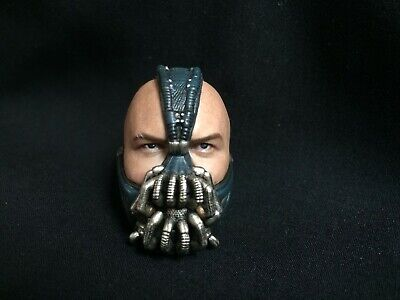 """1/6th Scale Bane Head Sculpt The Dark Knight Rises For 12"""" Male Action"""