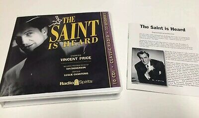The Saint Is Heard (Old Time Radio) (Classic Radio Suspense)