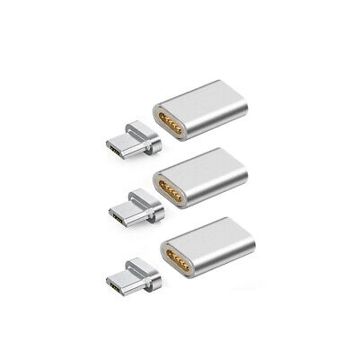 1X Magnetic Lightning/Micro USB/Type C Converter Charger Adapter Universal AU