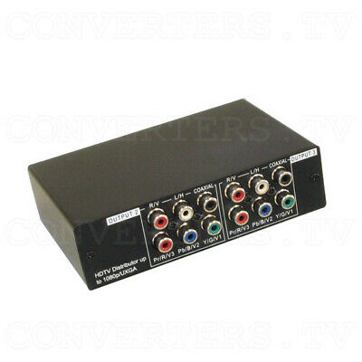 HD-SD Distributor 1 input : 3 output w/Digital & Analog Audio   (FREE SHIPPING)