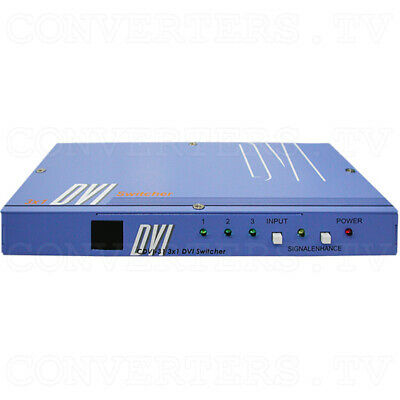 3-in 1-out DVI Switch   (FREE SHIPPING)  CDVI-31