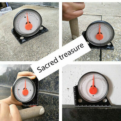 Magnetic Protractor Angle Finder Tilt Level Inclinometer Measure Clinometer