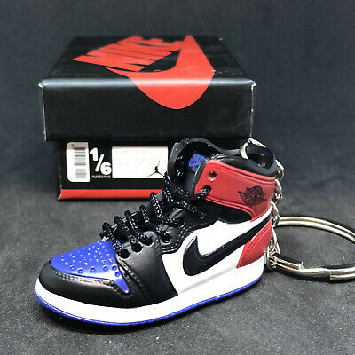 wholesale dealer 7427f 6e139 Air Jordan I 1 Retro High Og Top 3 Keychain 3D Sneakers Figure 1 6
