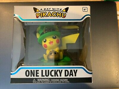 Funko Figure Pokemon A Day With Pikachu One Lucky Charm Vinyl - In hand