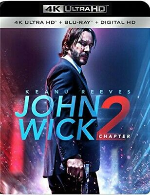 BLU-RAY John Wick: Chapter 2 (4k Ultra HD, Blu-Ray) NEW
