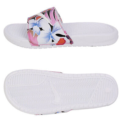ec24957dba52 Nike Benassi Just do it Print Slides (618919-113) Womens Sports Sandals  Slippers