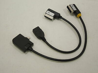Audi Music Interface AMI Cable iPhone 5 6 7 Lightning Connector New 4F0051510AM