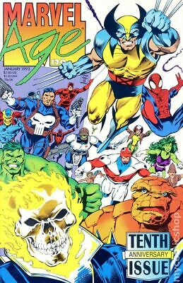 Marvel Age #120 1993 FN Stock Image