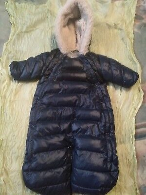 0e77f6e96 NWT 7AM ENFANT Doudoune Baby Winter Snowsuit Bunting )6 to 12 month ...