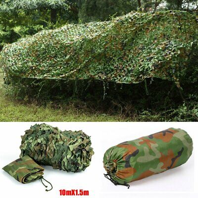 Net Camouflage Camo Hunting Shooting Hide Army Camping Woodland Netting 10Mx1.5M