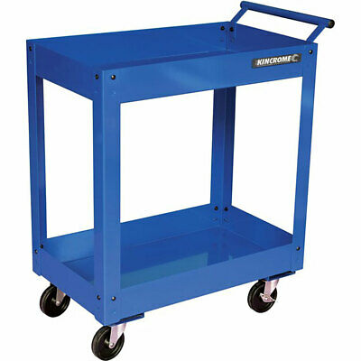 Kincrome 2 Tier Tool Trolley Blue