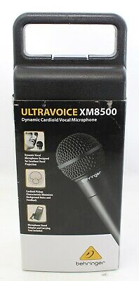 Behringer XM8500 Dynamic Cardioid Vocal Microphone Mic