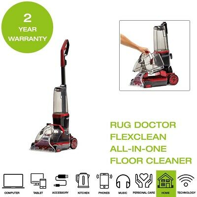 *Brand New* Rug Doctor FlexClean All-in-One Floor Cleaner - Red & Black