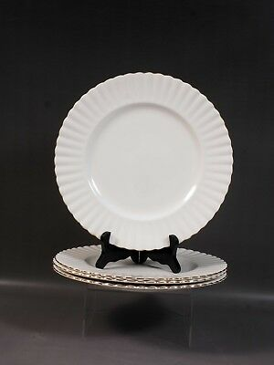 Royal Albert Val D'Or Dinner Plate(s) gold white Vintage England Bone china