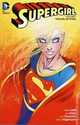 Supergirl TPB (2016- DC) 4th Series Collections #1-1ST VF Stock Image