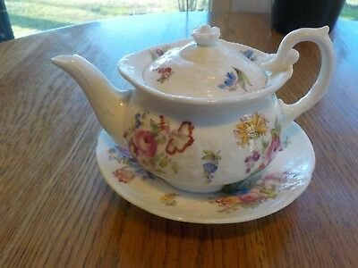 COALPORT Bone China Tea Server England Antique