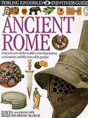 Ancient Rome (Eyewitness Guides) by James, Simon, Good Used Book (Hardcover) FRE