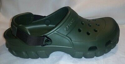 bb32dd55952d CROCS MENS OFFROAD Sport Clog With Adjustable Strap Army Green 10 12 ...