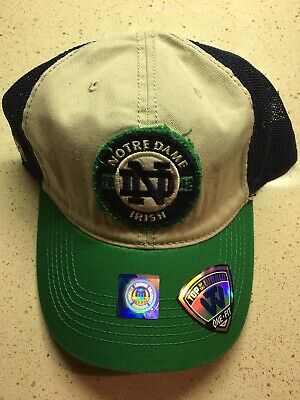 new product 83d92 105b4 Notre Dame Fighting Irish NCAA Top of the World Honors Flex Mesh Hat Cap