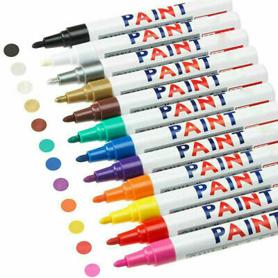 Acrylic Paint Markers Pens Set Medium Tip Art Permanent Paints Pens