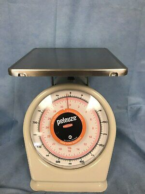 Rubbermaid Pelouze Model 832BW Portion Scale 32oz X 1/8oz. 900g X 2g