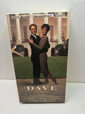 dave 1993 vhs