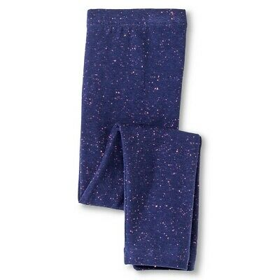 Circo Girls Size 12 Months Blue Pink Speckle Pull On Stretch Cotton Legging Pant