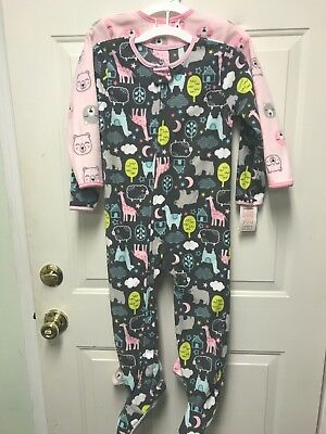 B88 NEW Carter/'s Just One You Toddler Boy 4 Piece Consruction PJ Pajama Set 4T