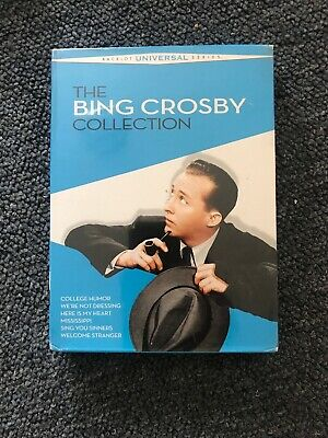 The Bing Crosby Collection (DVD, 2010, 3-Disc Set) 6 movies