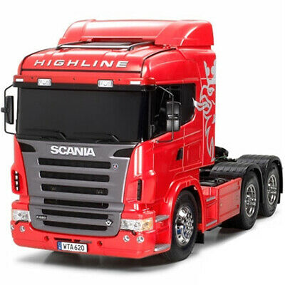 Tamiya 56323 1/14 Scania R620 6x4 Highline Tractor Truck Red Kit