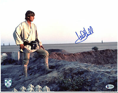 Mark Hamill Star Wars Authentic Signed 11x14 Photo Autographed BAS #A78933