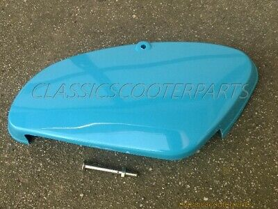 Honda C70 Passport 1980-86 plastic BLUE LEFT tool side cover PLEASE READ! H2736
